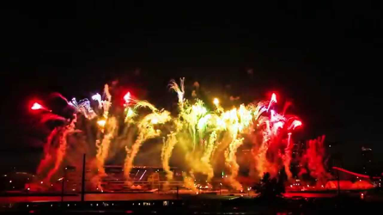 Calgary Stampede Fireworks 2014 Quot Barnburner Quot Youtube