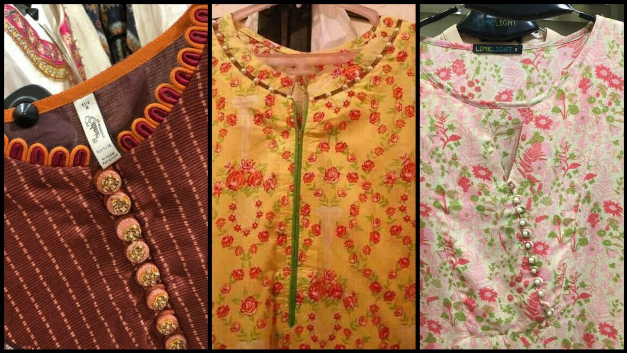Lastest Kurti Neck Designs 2020/New Winter Neck Designs By Beauty world