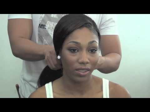 Bridal Makeup for African American Women and Bridal Hair Ideas