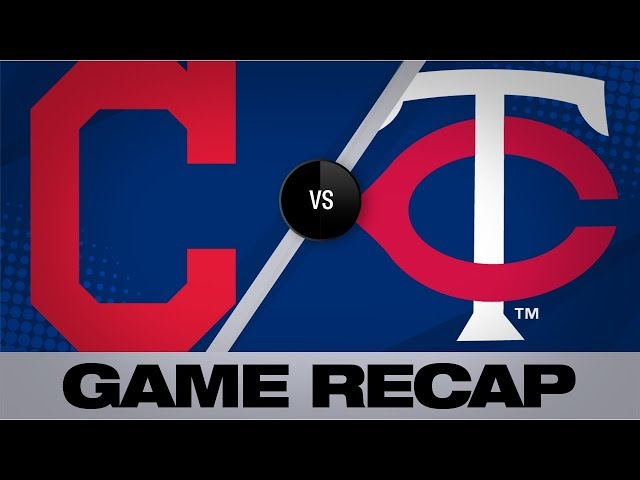 Santanas slam in 10th seals Tribes 7-3 win | Game Highlights Indians-Twins 8/11/19