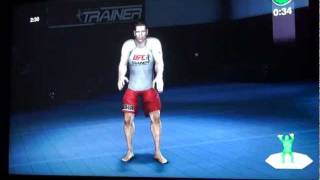 Xbox 360 UFC personal trainer for Kinect