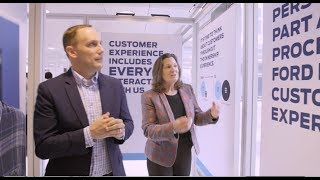 Elena ford, chief customer experience officer of ford motor company, and kanish patel, crm specialist, discuss the importance as part ...