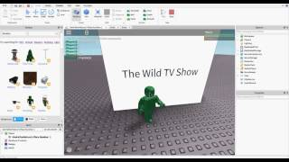 ROBLOX Scripting Tutorial | How to make a working TV!