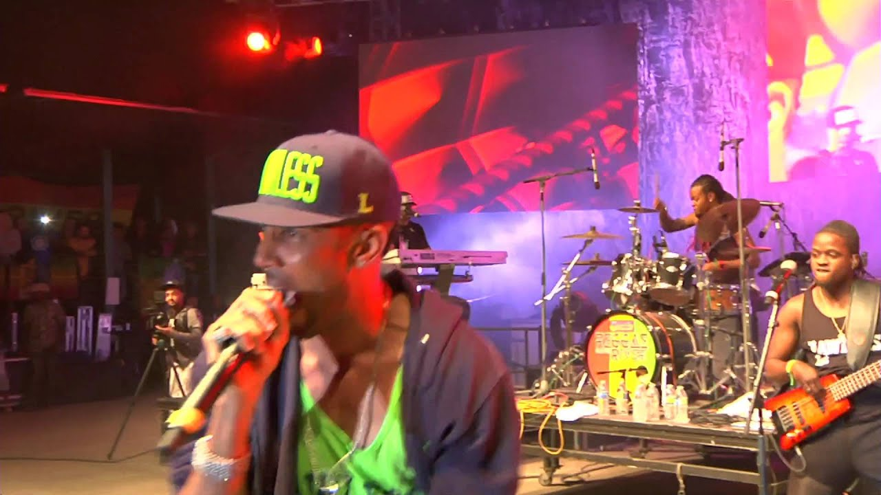 Cham live in concert at Reggae On The River (2015) - YouTube