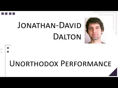 John-David Dalton - Unorthodox Performance [ ThunderPlains 2015 ]