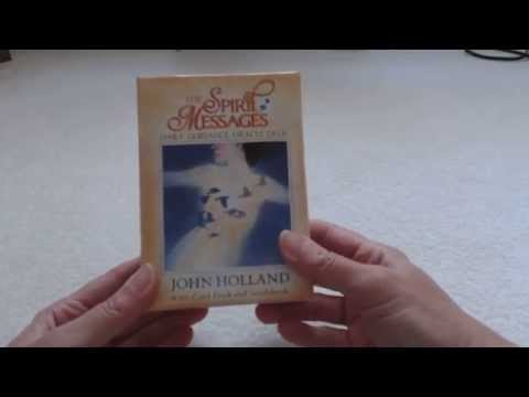 Traceyhd's Review of The Spirit Messages Daily Guidance Oracle Deck by John Holland