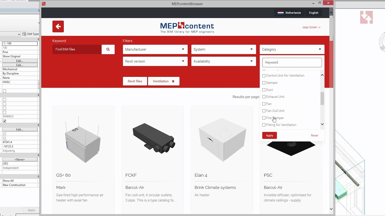 MEPcontent browser for Revit and Autocad | Browse the largest BIM library  for MEP engineers