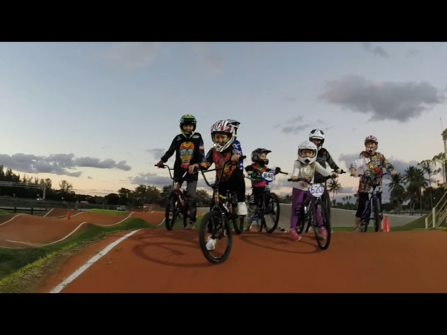 Okeeheelee BMX All Girls Clinic with Coach Lanouette