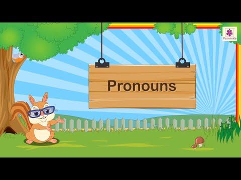 Pronouns For Kids | Grammar Grade 1 | Periwinkle