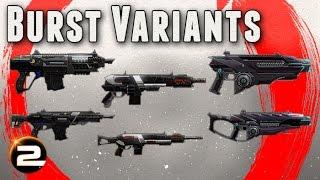 Burst Variants Overview - PlanetSide 2 Gameplay