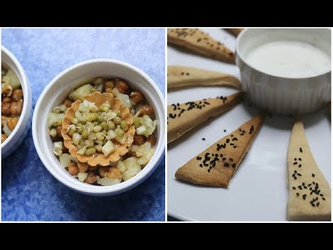 2 Easy Vegetarian & Almost Healthy Snacks For Diwali | #Diwalog Day 18