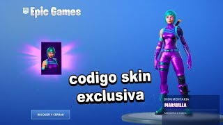 I found a unique Skins code and this happens... - Fortnite