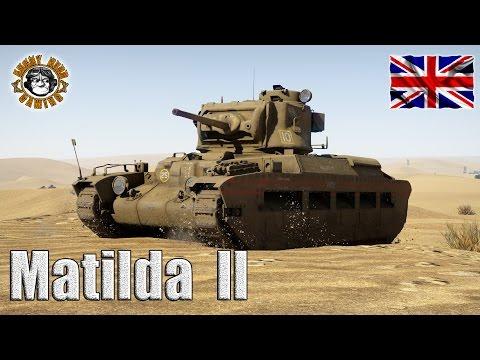 War Thunder: Matilda II, A12 Mk.II, British Tier-2, Heavy Tank