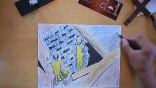 Paul and Silas in Prison (Acts 16) - (timelapse)
