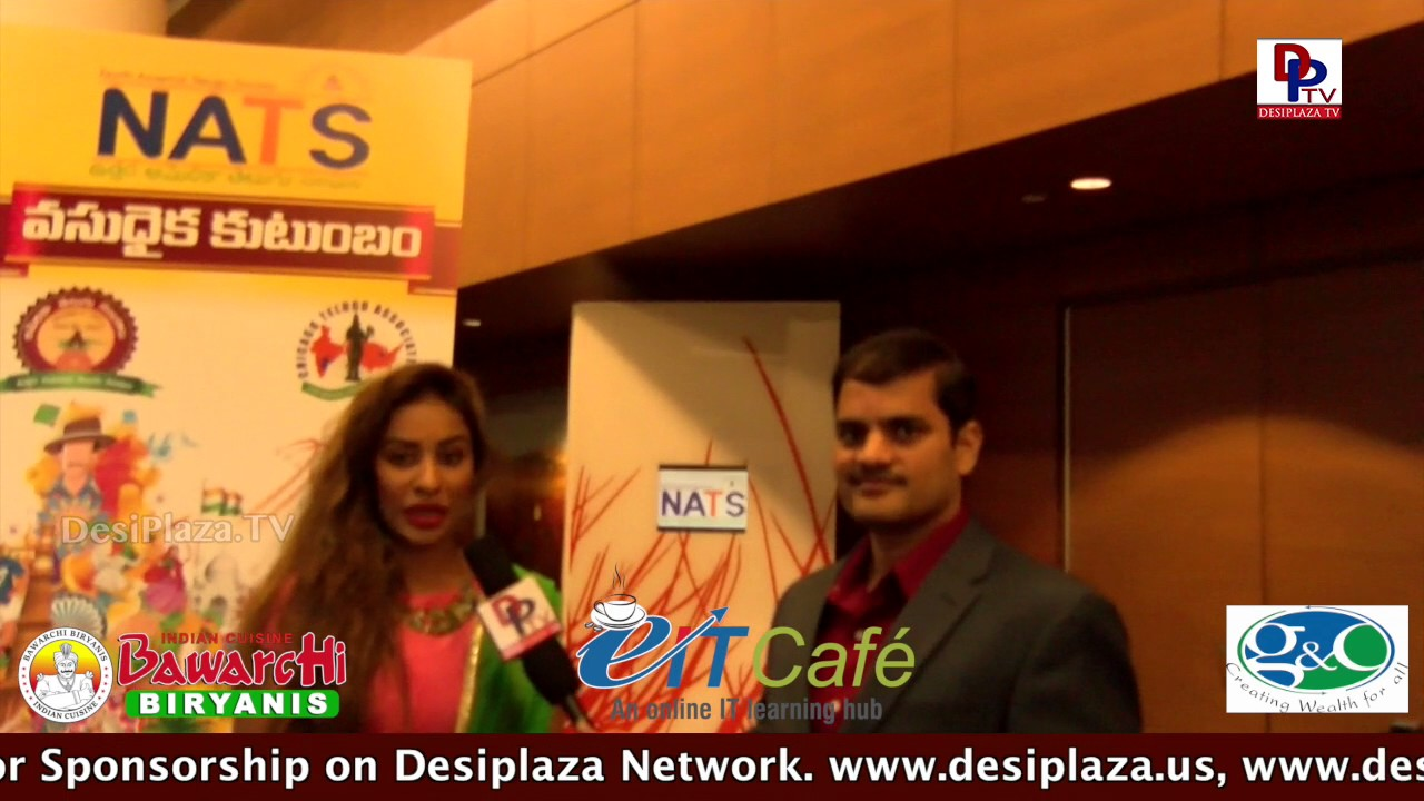 Sri Reddy Speaking with DPTV @ NATS Conference - Chicago