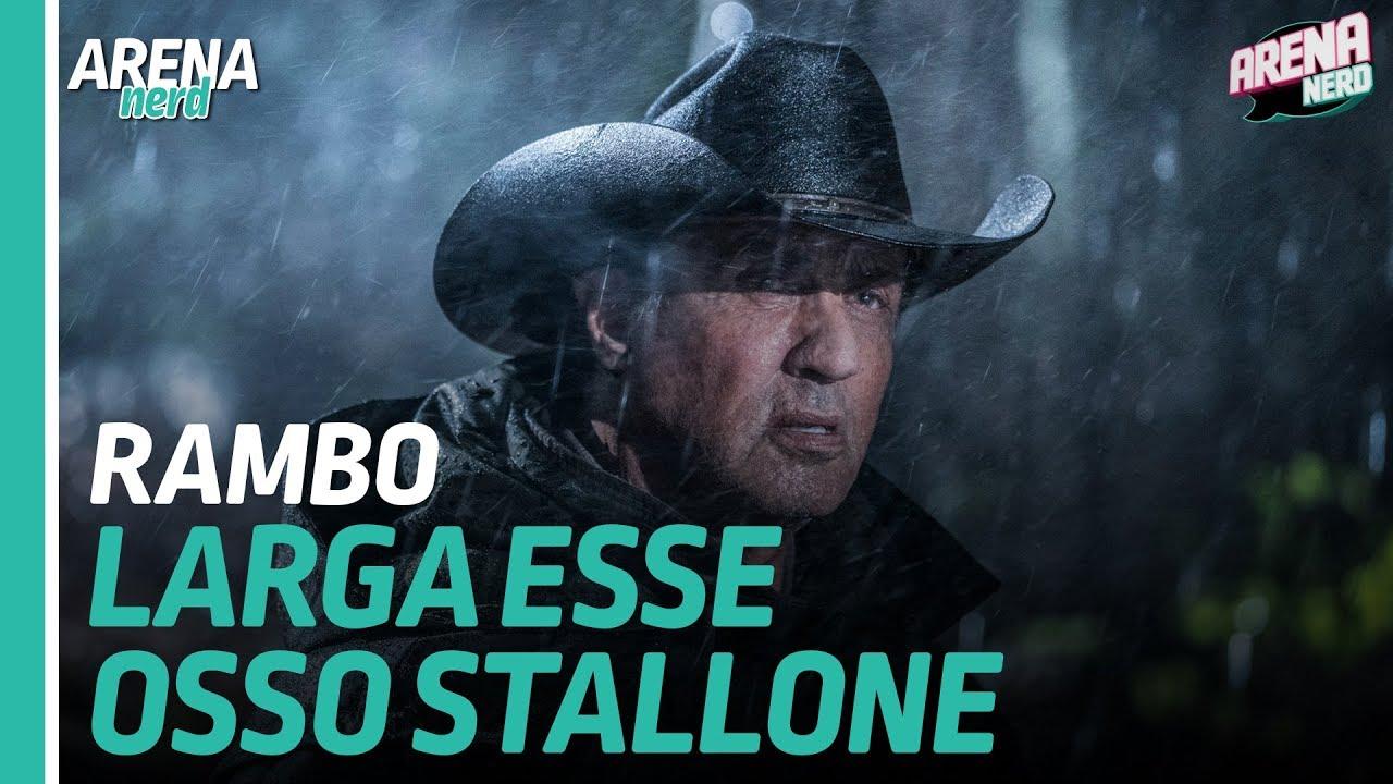 Rambo: Até o Fim | Larga esse osso Stallone | Arena Nerd