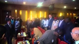 قناة السويس الجديدة : مميش يستقبل رئيسة أفريقيا الوسطى