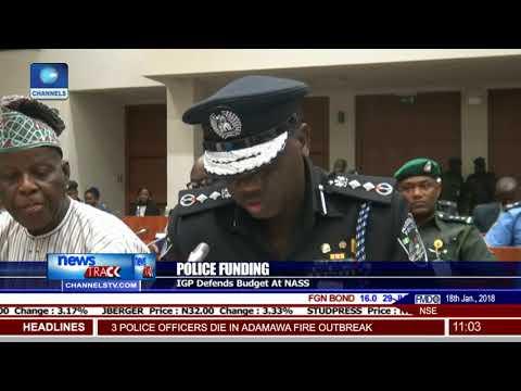 IGP Ibrahim Idris Defends Budget At NASS