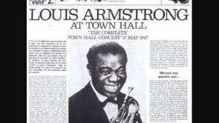 Louis Armstrong and the All Stars 1947 Back O