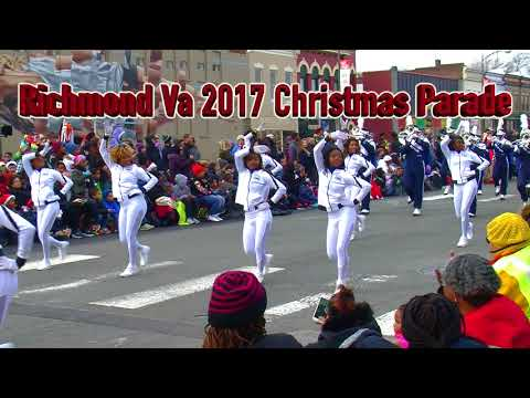 Hampton University in Richmond Va  2017 Christmas Parade