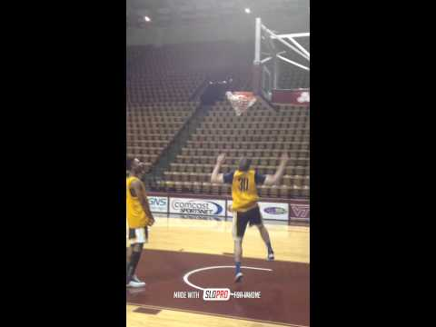 Richard Romeo WVU Guard Super Slow-Mo Dunk at Virginia Tech