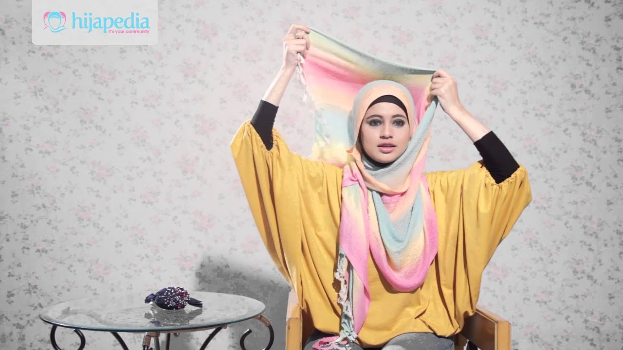 hijab tutorial dian pelangi pashmina - youtube