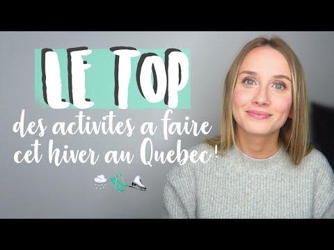 16 ACTIVITÉS À FAIRE CET HIVER AU QUÉBEC ! ⛸ 🎿 ⛷