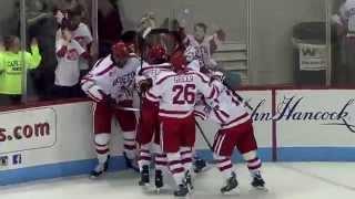 BU Hockey - Goals vs. Maine (11/21/14)
