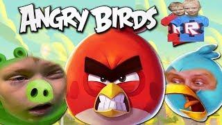 ANGRY BIRDS НОВАЯ версия. Мультигра. Злые Птички Возвращаются  брос шоу геймс 3+