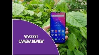 Vivo X21 comes with a dual camera and a front 12MP camera for selfi...