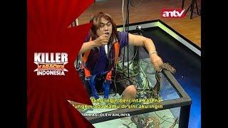 Rambut boleh gondrong, tapi Darlin teriak ketakutan! – Killer Karaoke Indonesia