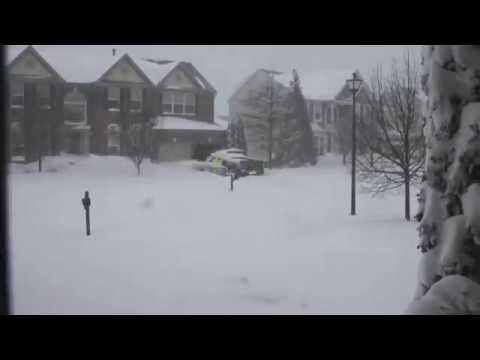 2016 Blizzard Full Time Lapse - Leesburg, VA
