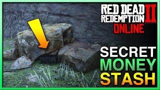 Red Dead Redemption 2 Online Treasure SECRET MONEY STASH - RDR2 Online Treasure - Red Dead Online