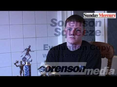 Amateur Footballer Dan Bates talks about his horrific le...
