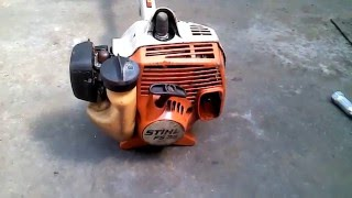 Ремонт бензокосы Штиль(Ремонт бензокосы Stihl fs 38 ремонт гибкого вала., 2016-05-03T13:22:14.000Z)