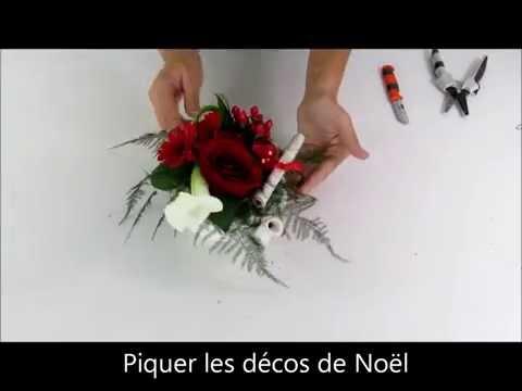2016 - DIY/ Tutoriel centre de table théière Noël - Carrément Fleurs