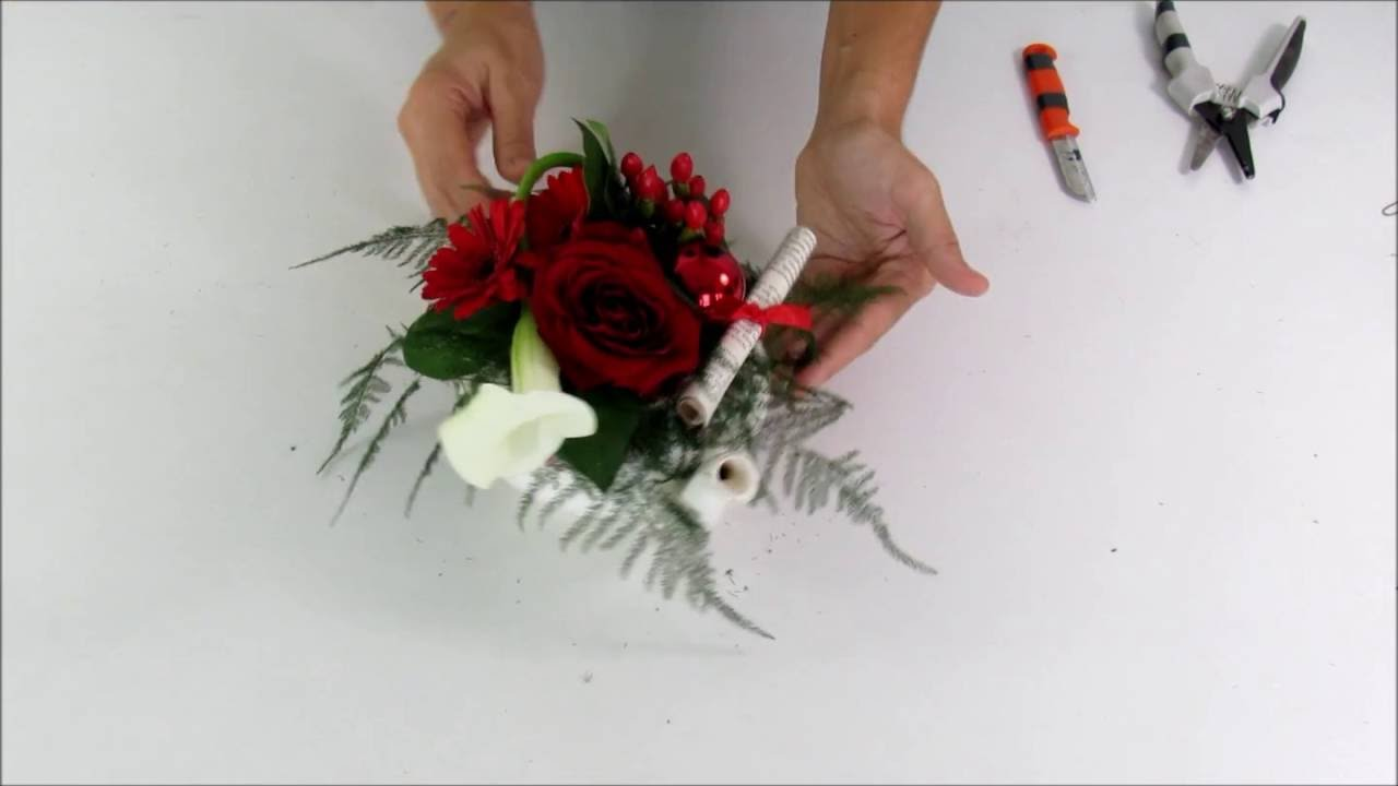 2016 Diy Tutoriel Centre De Table Th I Re No L Carr Ment Fleurs Youtube
