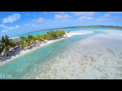 Aitutaki, Rarotonga, Cook Islands with polynesian music HD