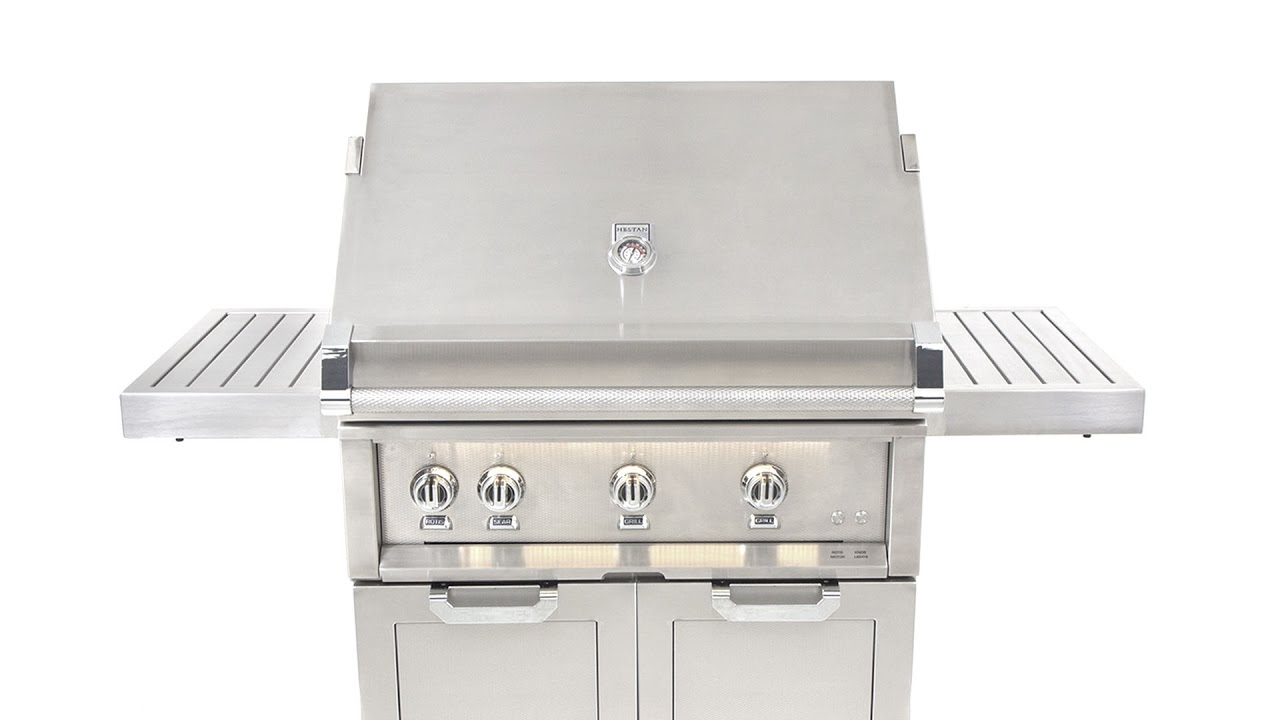 hestan gas grill review bbqguys com youtube