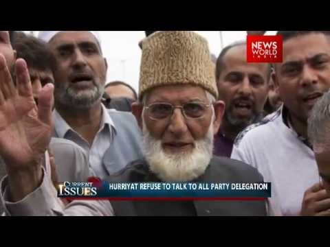What is the current issue that is happening in Kashmir?