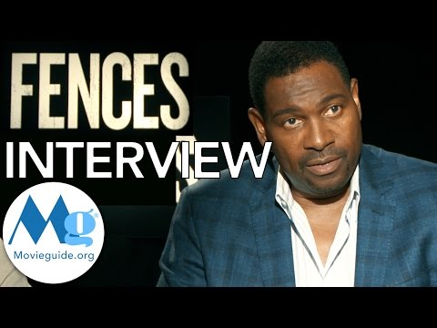 FENCES Exclusive with Russell Hornsby & Mykelti Williamson