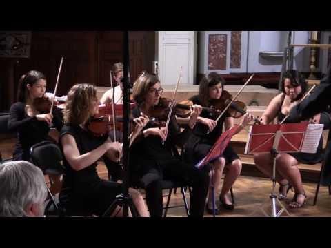 Voce Tolosa.  A. Vivaldi : Allegro assai du concerto pour cordes RV 153.