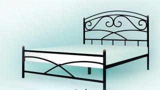 видео Металлические кровати