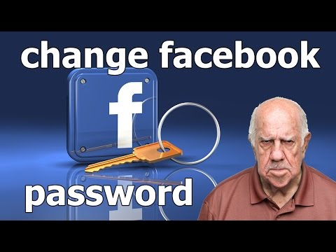 How to Change your Facebook Password.