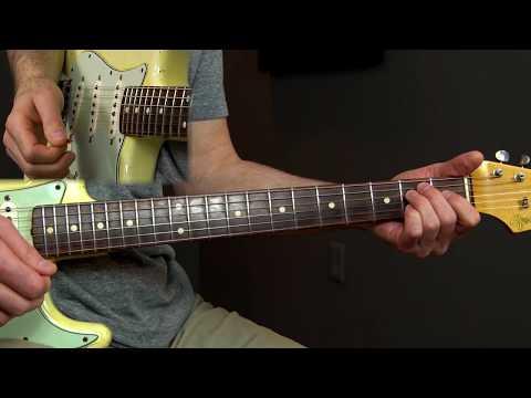 12 Bar Blues Rhythm and Lead Lesson Podcast 37