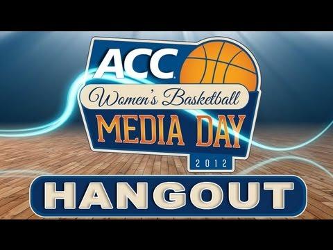 Women's Media Day Hangout