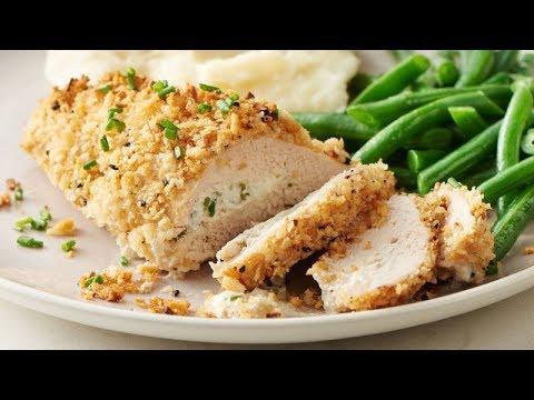 Cream Cheese-Stuffed Everything Bagel-Seasoned Chicken | Betty Crocker Recipe