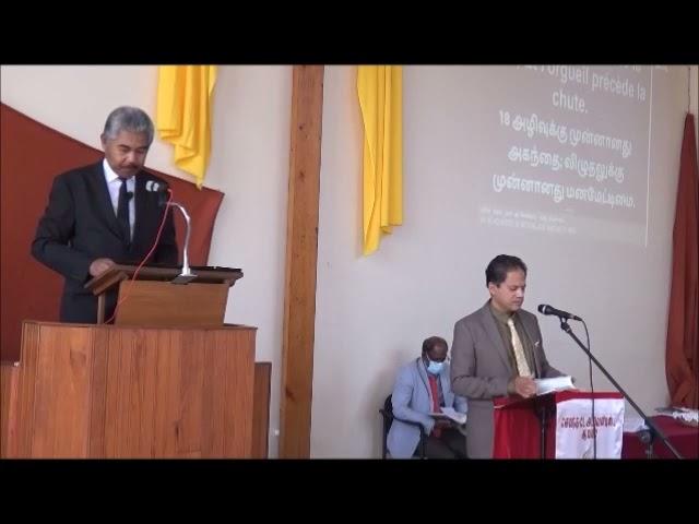 Donnez Gloire à Dieu - Sermon by Pastor Elioenay RAJAONAH