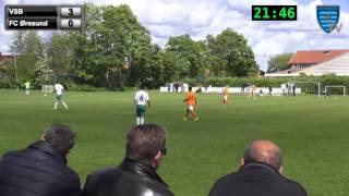 Virum-Sorgenfri - FC Øresund - Sjællandsserien 2. Halvleg 30/05/2015