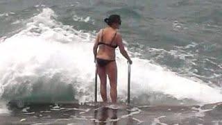 Beaches Herceg Novi Montenegro Пляжи Херцег Нови Черногория